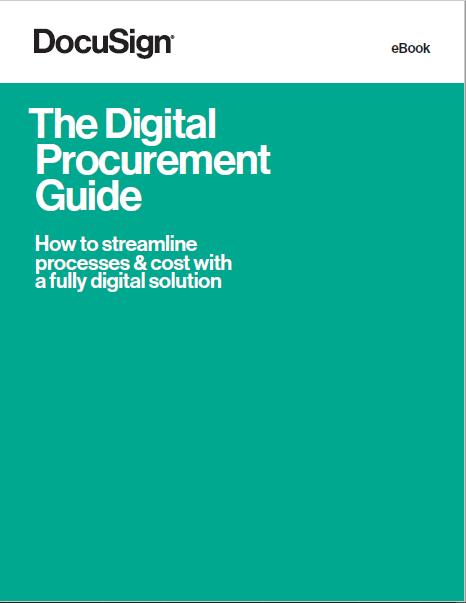 ebook: The Digital Procurement Guide