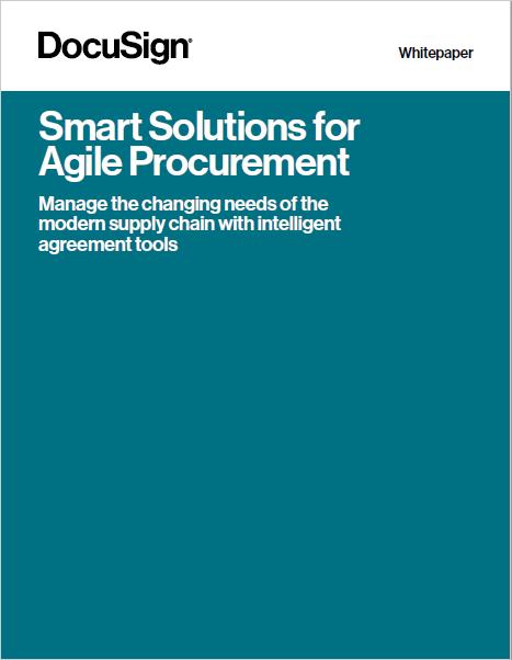 Smart Solutions for Agile Procurement
