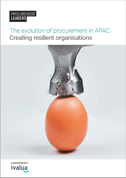 The evolution of procurement in APAC: Creating resilient organisations