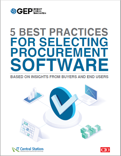 5 Best Practices for Selecting Procurement Software