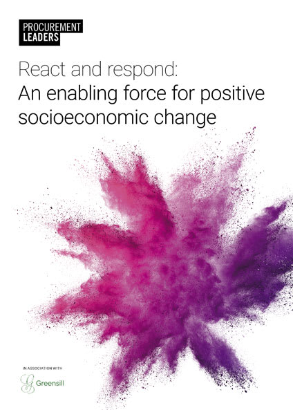 React and respond: An enabling force for positive socioeconomic change