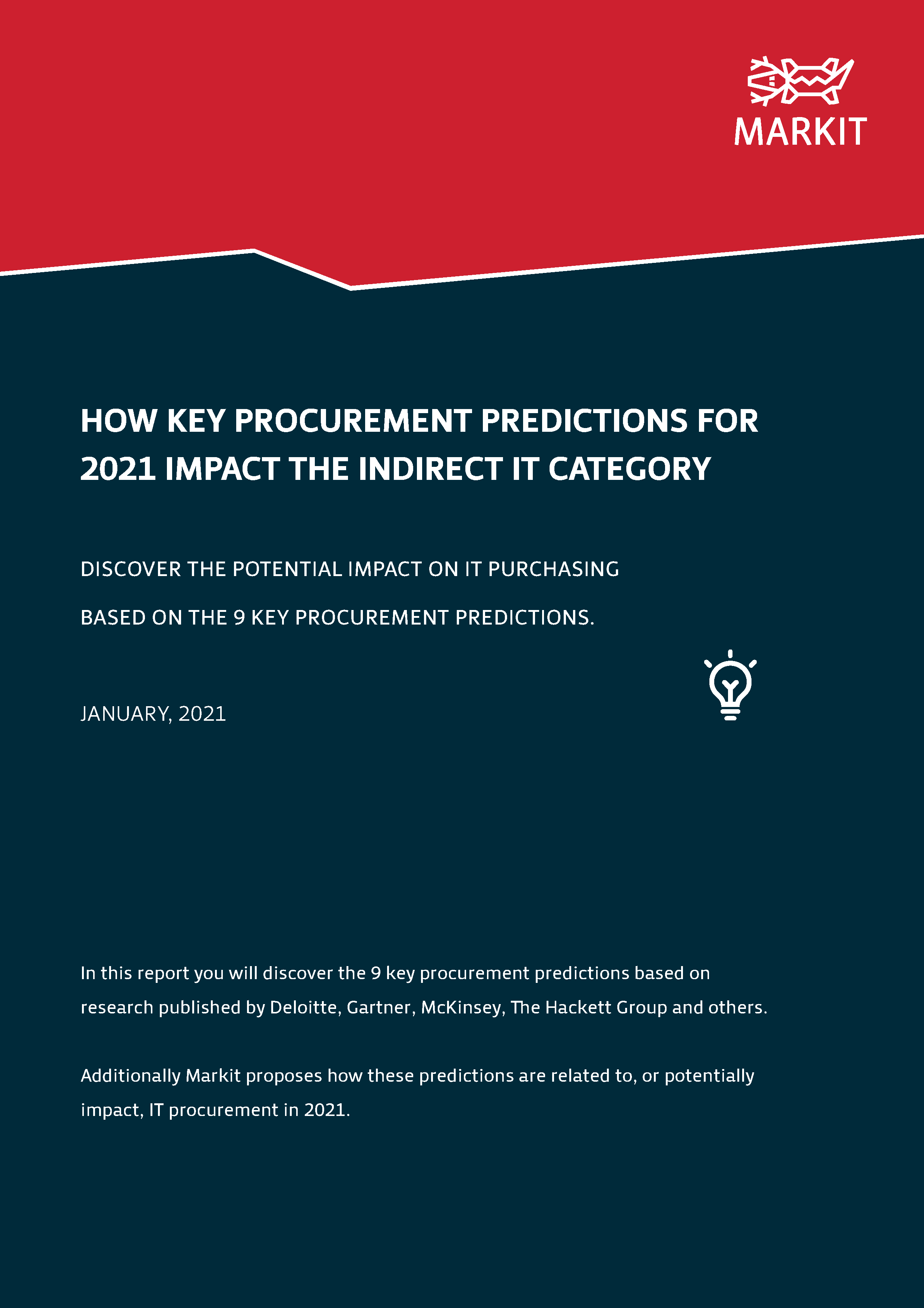 How Key Procurement Predictions For 2021 Impact The Indirect IT Category