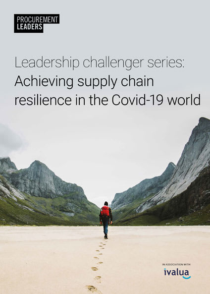Leadership challenger series: Achieving supply chain resilience in the Covid-19 world