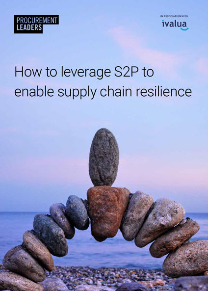 How to leverage S2P to enable supply chain resilience