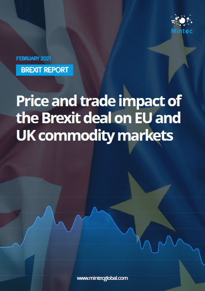 Brexit Report: Price and trade impact of the Brexit deal on EU and UK commodity markets