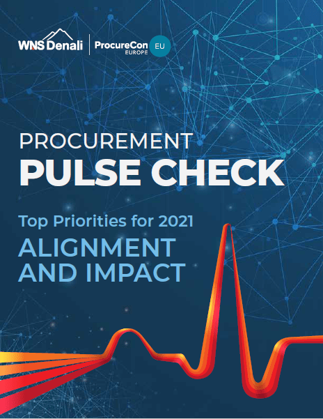Procurement Pulse Check: Top Priorities for 2021 - Alignment and Impact