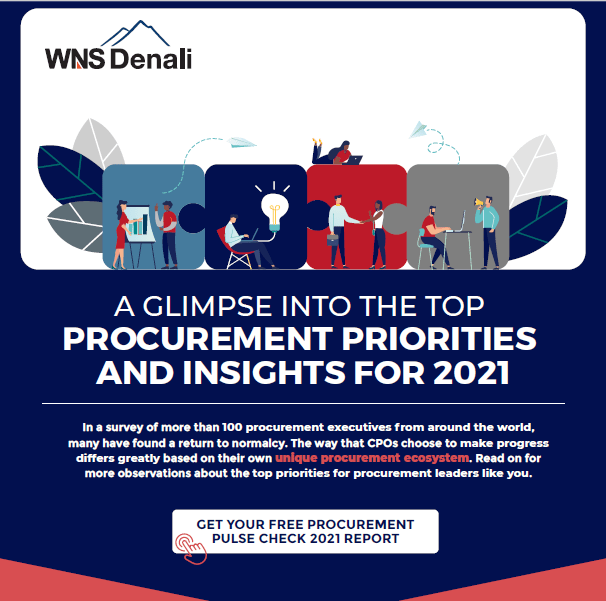 A Glimpse Into the Top Procurement Priorities and Insights for 2021