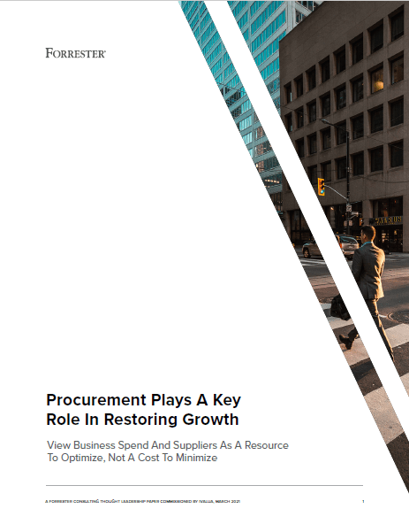 Procurement Plays A Key Role In Restoring Growth