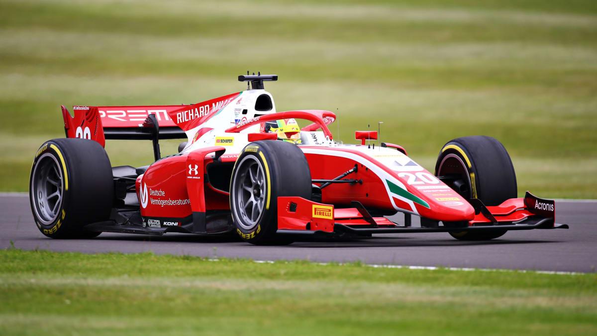 Mick Schumacher, Silverstone 2020