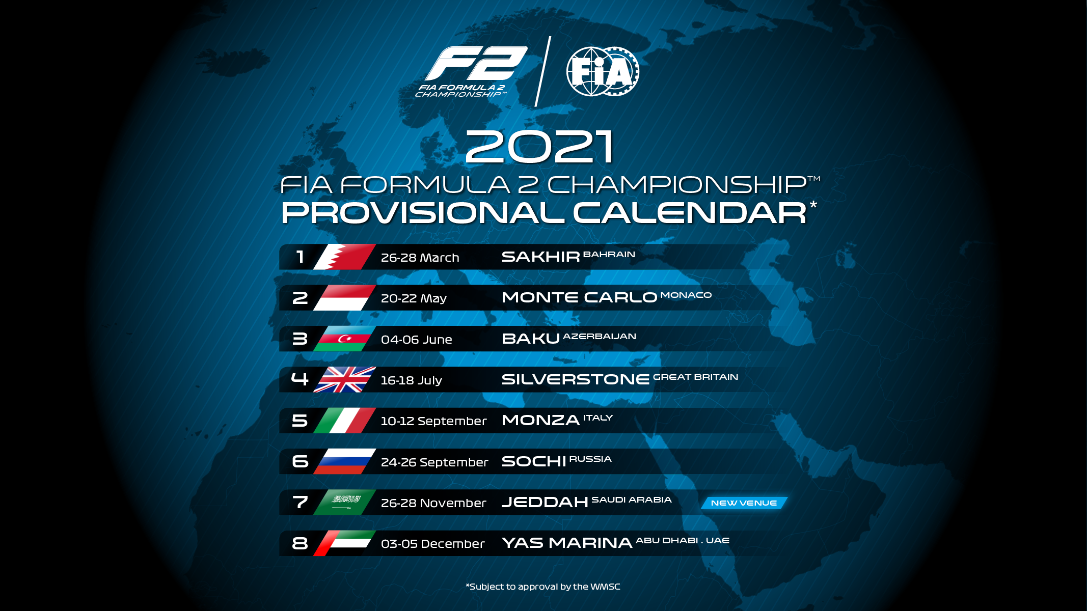 Image result for formula 2 2021 calendar