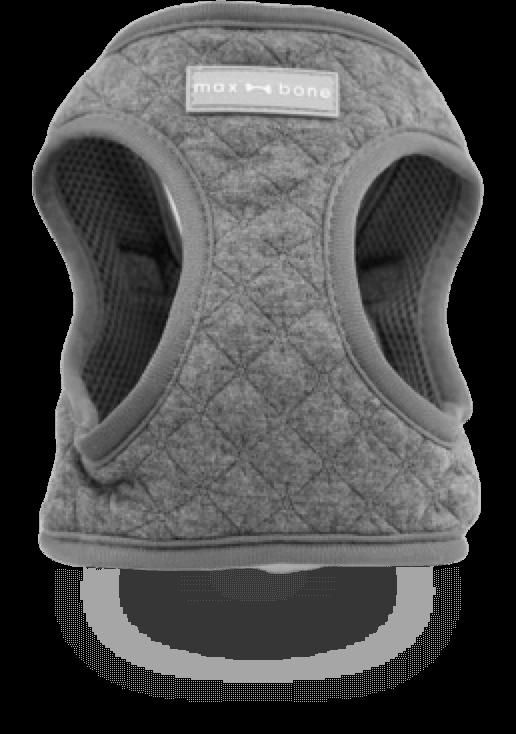 Gray Adjustable Emil Harness, Medium