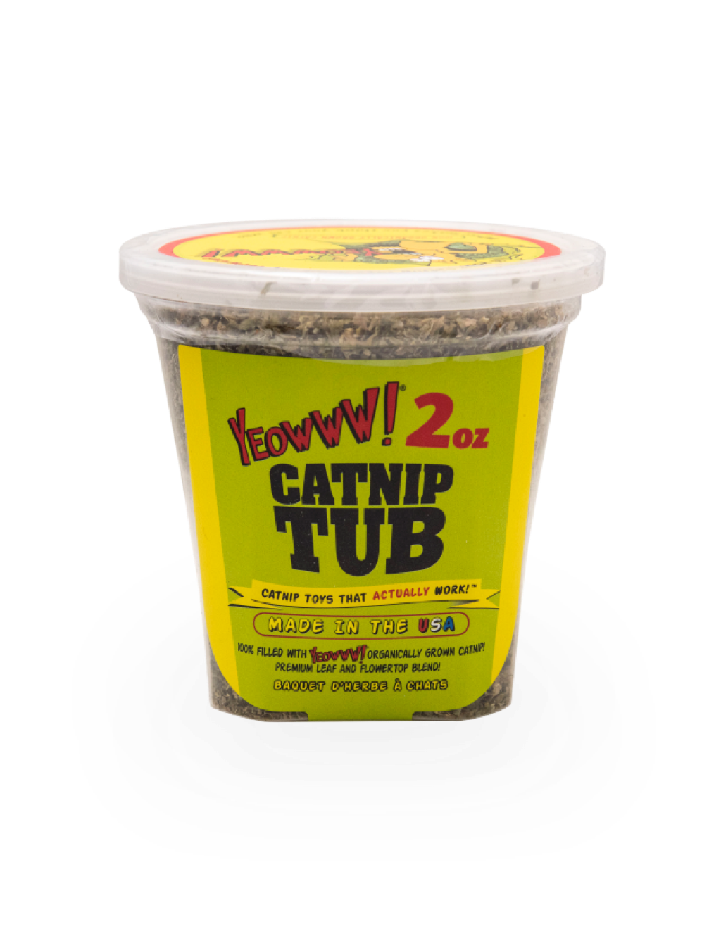 Catnip Tub, 2 oz.