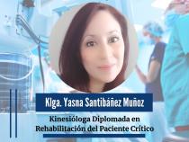Kinesióloga Diplomada en Rehabilitación del Paciente Critico, Enfermedades Respiratorias y Yoga.