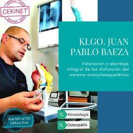 Klgo. Juan Pablo Baeza, Máster en Osteopatía estructural