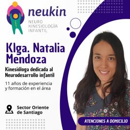 Kinesióloga Natalia Mendoza Hombo (Neukin)