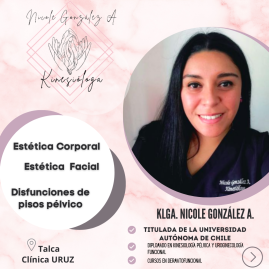 Klga. Nicole Andrea González Amaro