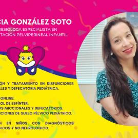 Klga. Alicia González Soto Especialista en Rehabilitación Pe