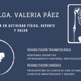 Mg. Klga. Valeria Páez Ramírez