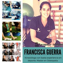 Klga. María Francisca Guerra . Master en Osteopatia . Rehabi