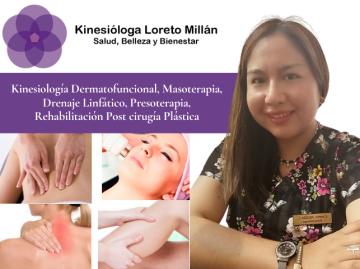 Klga. Loreto Millán Kinesiologia Dermatofuncional
