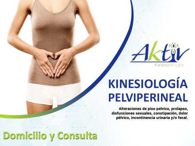 Kinesiología Pelviperineal Domicilio y Consulta