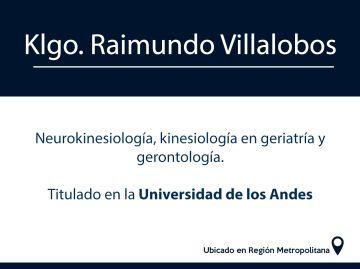 Klgo. Raimundo Ignacio Villalobos Ringeling