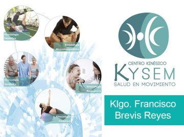 Kinesiólogo Francisco Brevis Reyes. Magister en Terapia Manual Ortopédica