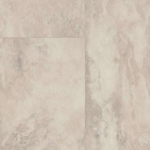 Trucor  Tile in Travertine Blanco - Vinyl by The Dixie Group
