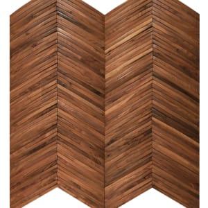 Hardwood Inceptiv-ArkChevron ARKCH-AMRCNWLNT AmericanWalnut