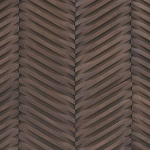 Hardwood Inceptiv-CurvaChevron CCHV-BRWNSH BrownAsh