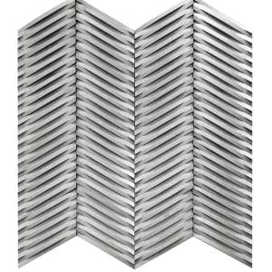 Hardwood Inceptiv-CurvaChevron CCHV-SLVR Silver