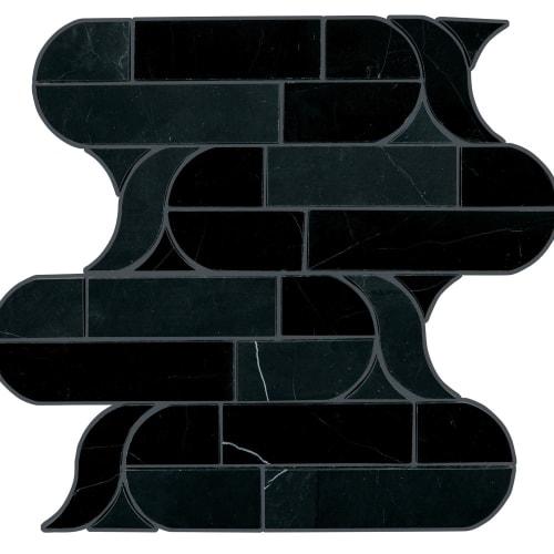 Pietra Divina Nero Marquina Cupola M462