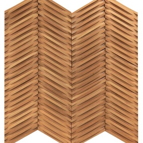 Hardwood Inceptiv - Curva Chevron Golden Oak  main image