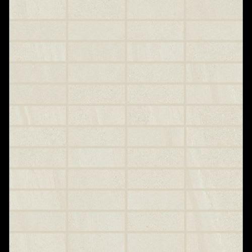 Alpine White - Stacked Mosaic