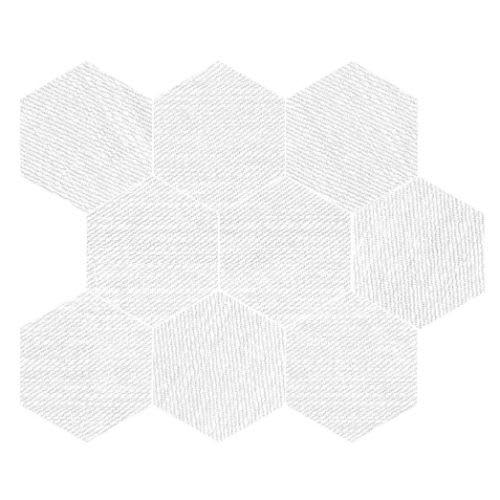 Carpi White - 115X14 Hexagon