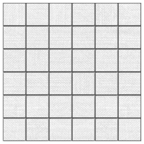 Carpi White - 12X12 Mosaic