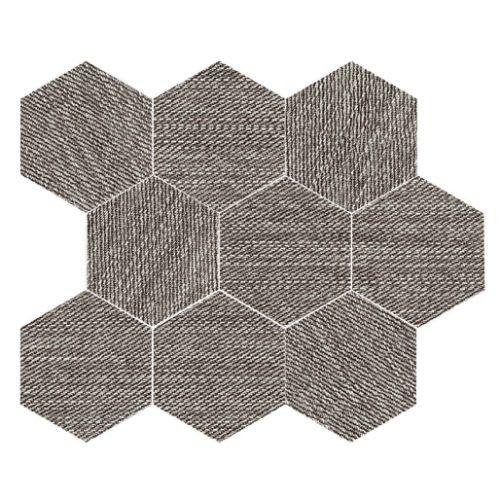 Carpi Charcoal - 115X14 Hexagon