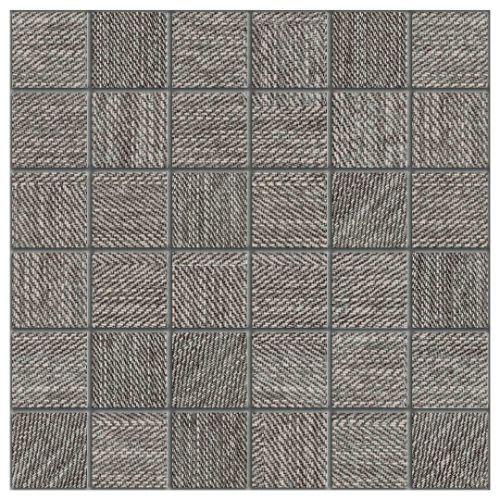 Carpi Charcoal - 12X12 Mosaic