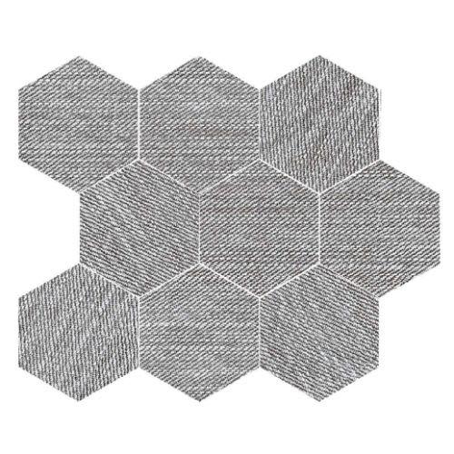 Carpi Grey - 115X14 Hexagon