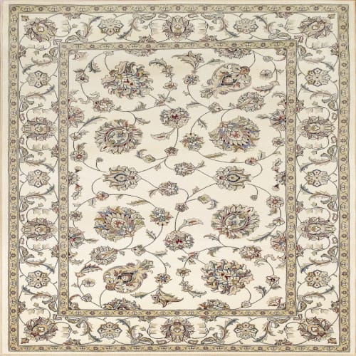 ANCIENT GARDEN - IVORY/IVORY