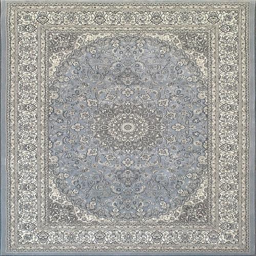 ANCIENT GARDEN - STEEL BLUE/CREAM