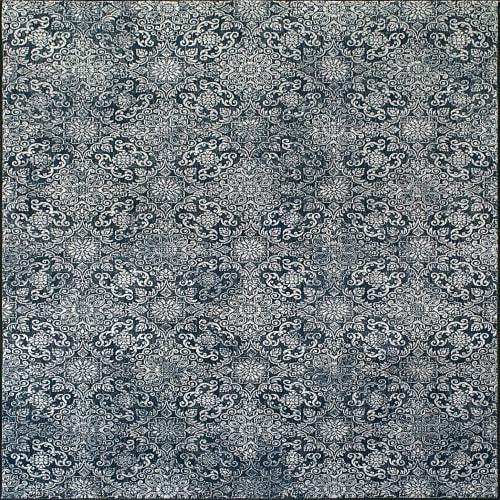 ANCIENT GARDEN - STEEL BLUE