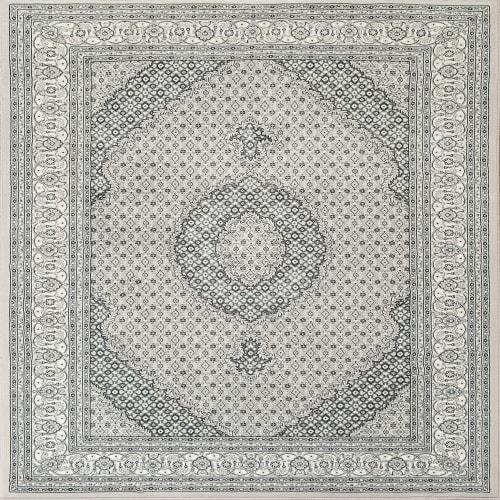 ANCIENT GARDEN - SOFT GREY/CREAM