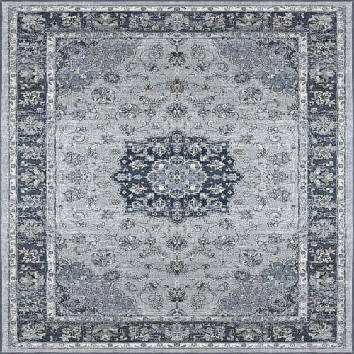 ANCIENT GARDEN - SILVER/BLUE