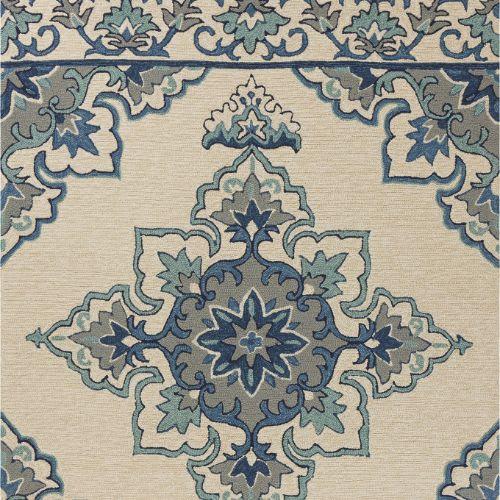 Harbor-4238-Ivory/Blue Serafina