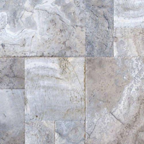 Silver Travertine Gray-Light