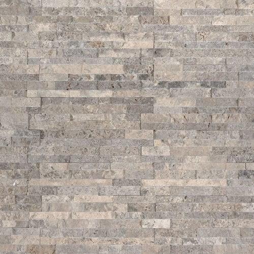 Silver Travertine Gray-Light 45X16