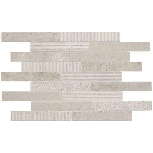 Center City Delancey Grey Linear Brick Joint M322