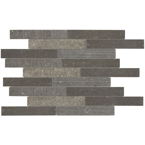Center City Chadwick Charcoal Linear Brick Joint L015