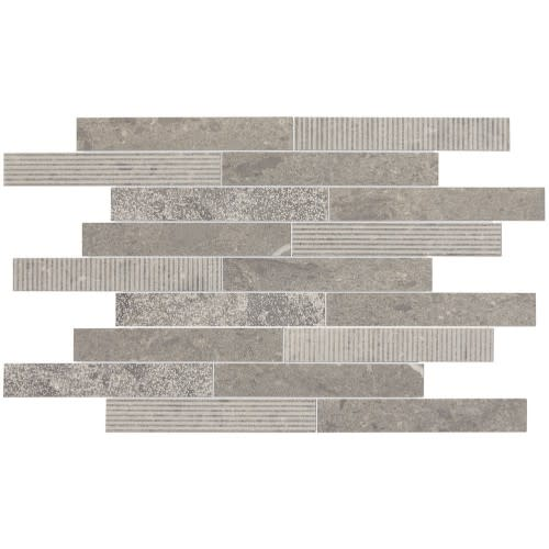 Center City Arch Grey Linear Brick Joint M323